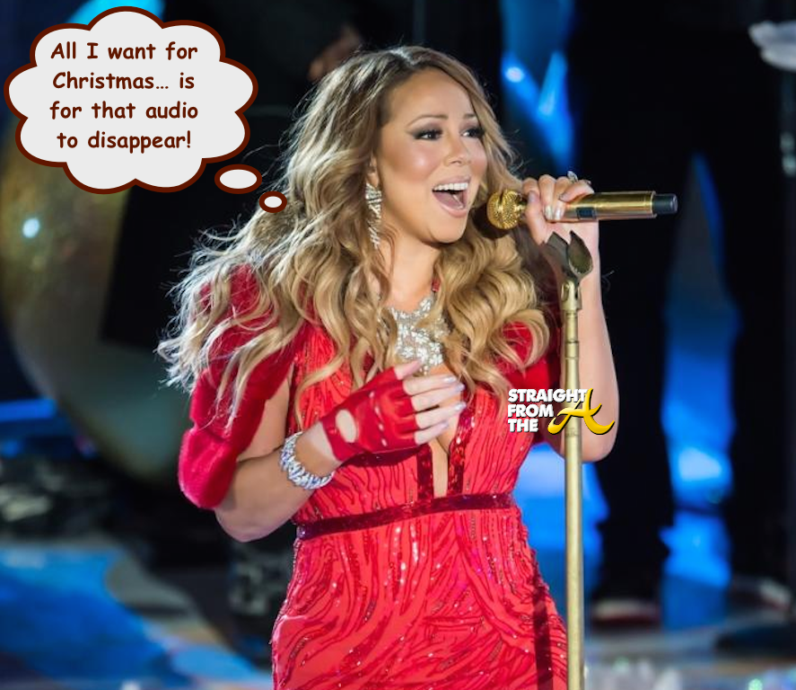 Mariah Carey All I Want For Christmas Mic Feed.The Blame Game Mariah Carey Accuses Disgruntled Techs Of