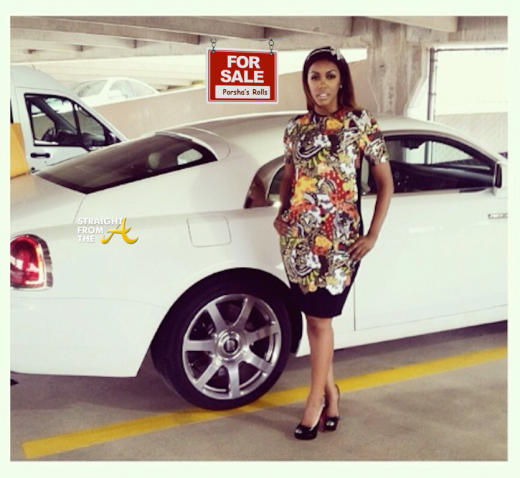 Porsha Williams Rolls Royce For Sale - StraightFromTheA