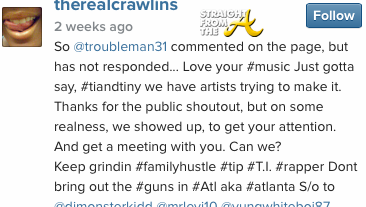 therealcrawlins instagram