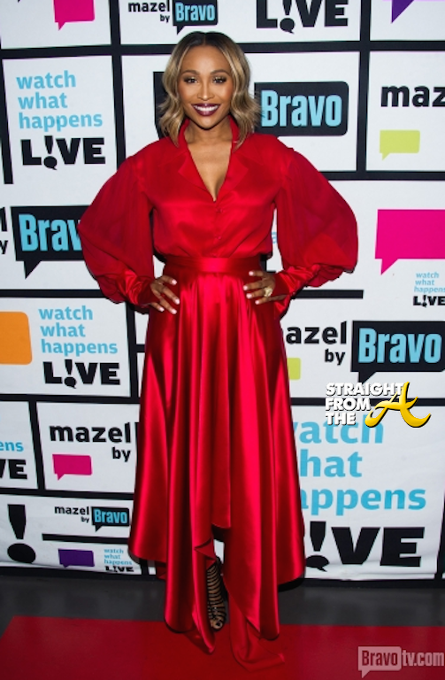 WWHL Cynthia Bailey - Bevy Smith - 113014-2
