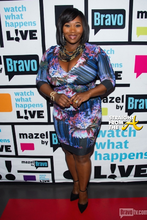 WWHL Cynthia Bailey - Bevy Smith - 113014-3