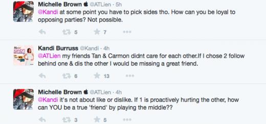 Kandi vs ATLien - Twitter