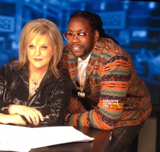 Nancy Grace and 2Chainz - StraightFromTheA