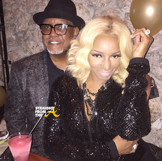 Nene and Gregg Leakes 2015 - StraightFromTheA