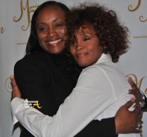 Pat and Whitney Houston