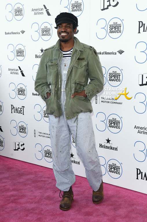 Andre 3000 Spirit Awards 2015-10