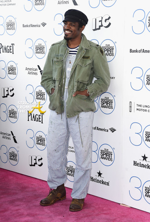 Andre 3000 Spirit Awards 2015-11