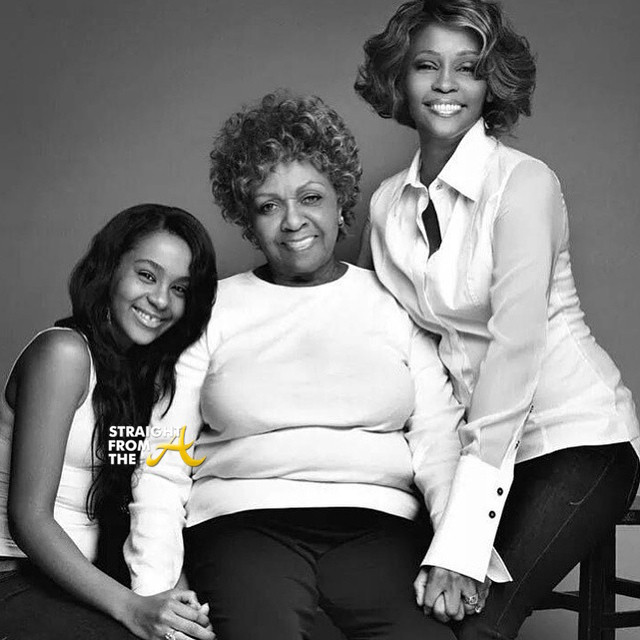 bobbi kristina and whitney houston relationship with daughter