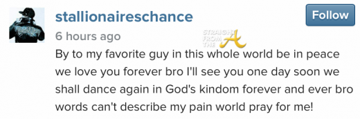 Chance IG Message