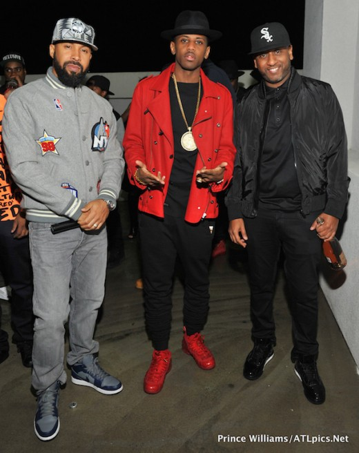 Kenny Burns Fabolous Alex Gidewon