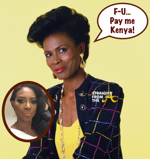 Janet Hubert Kenya Moore - StraightFromTheA