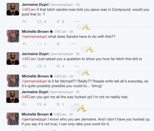 Jermaine Dupri Michelle Atlien Brown Twitter 2