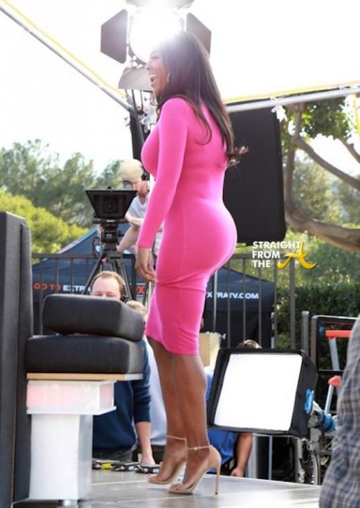 Kenya Moore Fake Butt - StraightFromTheA 4