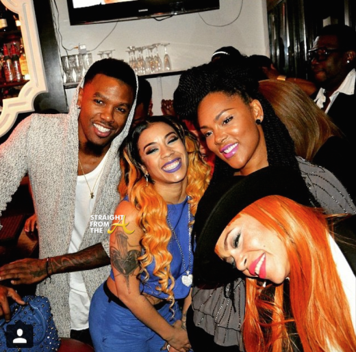 Instagram Flexin Are Keyshia Cole Daniel Gibson Reconciling Photos