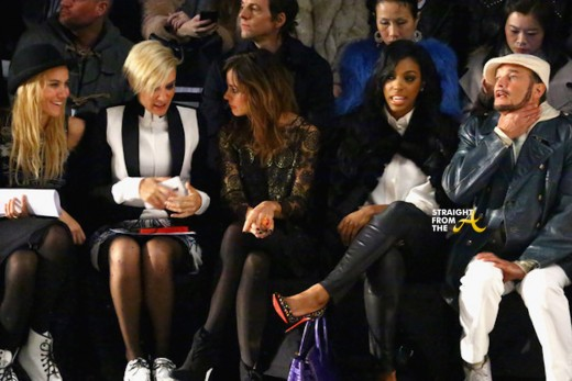 Porsha Williams Front Row NYFW 2015