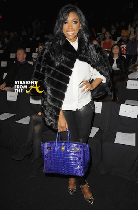 Porsha Williams at Vivienne Tam NYFW 2015 2