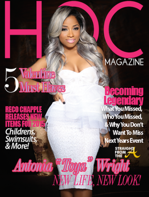 Toya Wright for HOC - StraightFromTheA