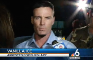 Vanilla Ice Burglary Arrest 2