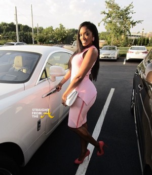 Porsha Williams Rolls Royce 2