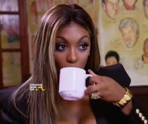 Porsha Williams Tea - StraightFromTheA