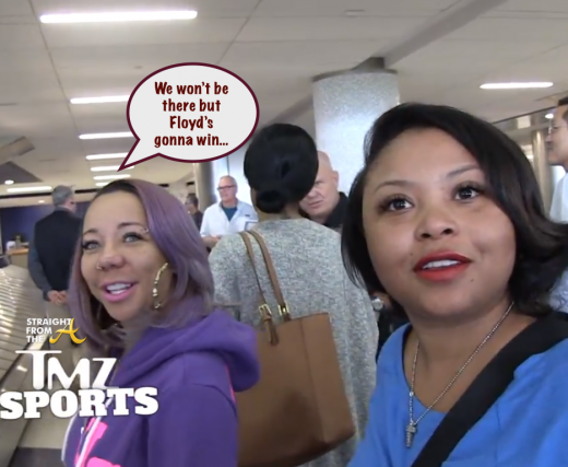 Tiny and Shekinah at LAX 2014
