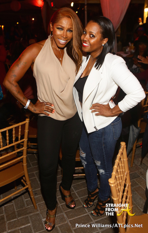 AJ Johnson Keshia Knight-Pulliam