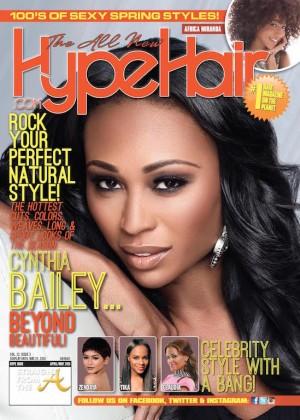 Supermodel Swag Rhoa Cynthia Bailey Covers Hype Hair