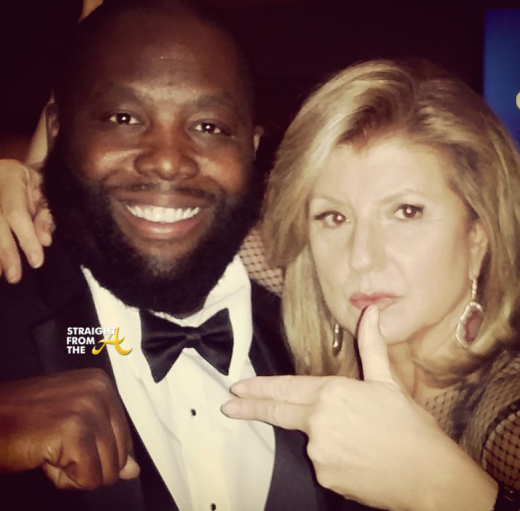 Killer Mike Ariana Huffington 2015