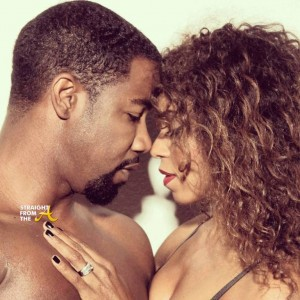 Michael Jai White and Wife Gillian Waters - StraightFromTheA