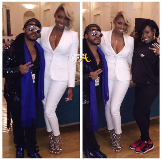 Nene Leakes RHOA Season 7 Reunion Glam Squad 2015
