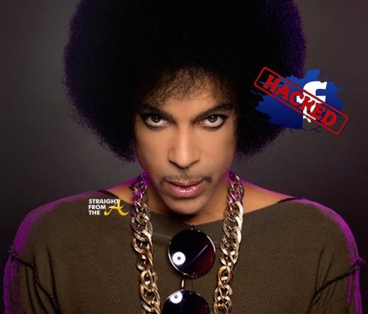Prince Facebook Hacked - StraightFromTheA