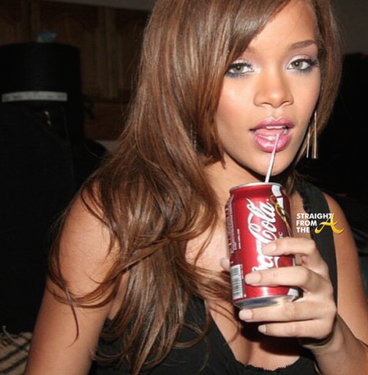 Rihanna and Coke
