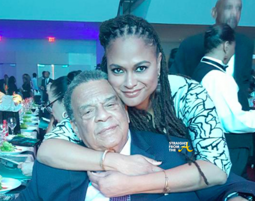 Ava DuVernay and Andrew Young