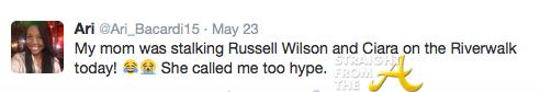 Ciara Tweet 2015