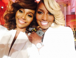 Cynthia Bailey Nene Leakes - RHOA Season 7 Reunion