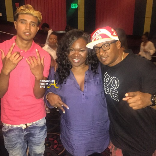 KapG Michelle ATLien Brown Kaway Prather - Atlanta DOPE Screening