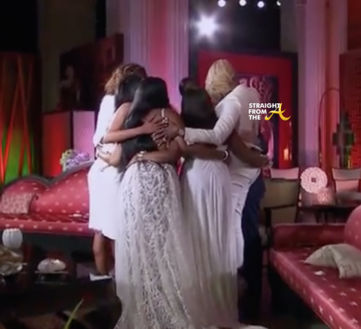 RHOA Group hug