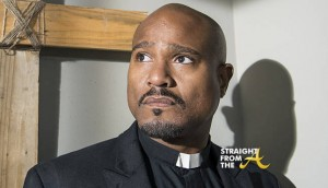 Seth Gilliam as Father Gabriel - The Walking Dead _ Season 5, Episode 14 - Photo Credit: Gene Page/AMC
