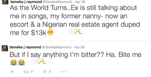 Tameka Raymond Tweets 1