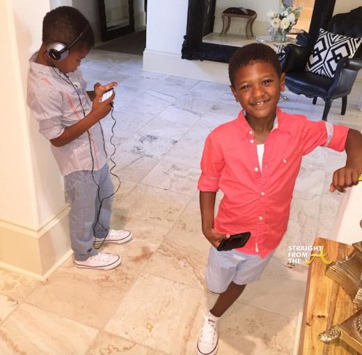 Usher Tameka Kids - Cinco Naviyd 2015