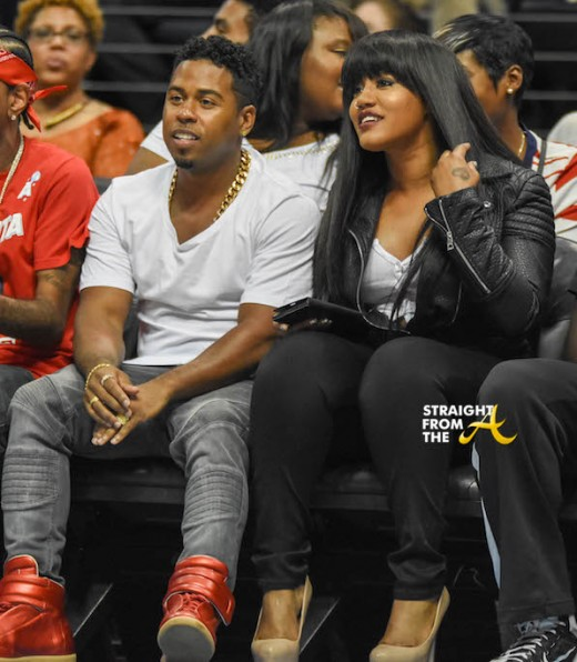 Bobby V Jhonni Blaze Atlanta Dream Game - SFTA 2