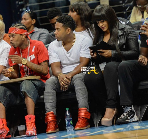 Bobby V Jhonni Blaze Atlanta Dream Game - SFTA