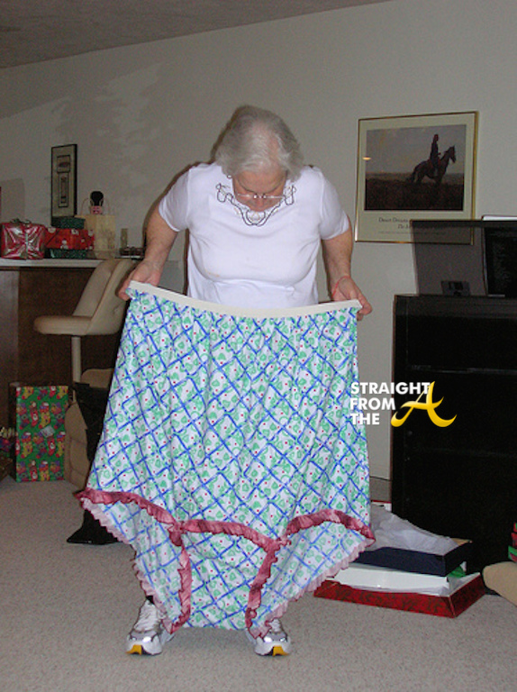 Big granny panties will not