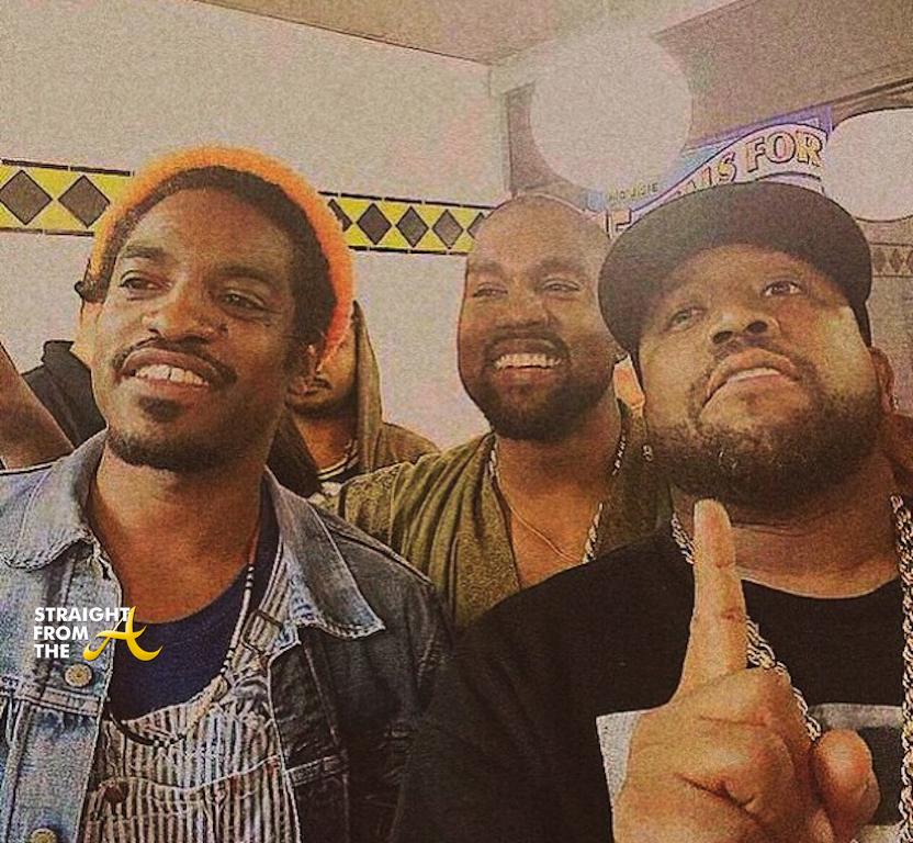 Instagram Flexin Big Boi Andre 3000 Amp Kanye West Spotted