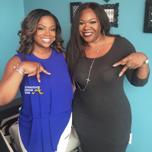 Kandi Burruss Michelle ATLien Brown SFTA 2