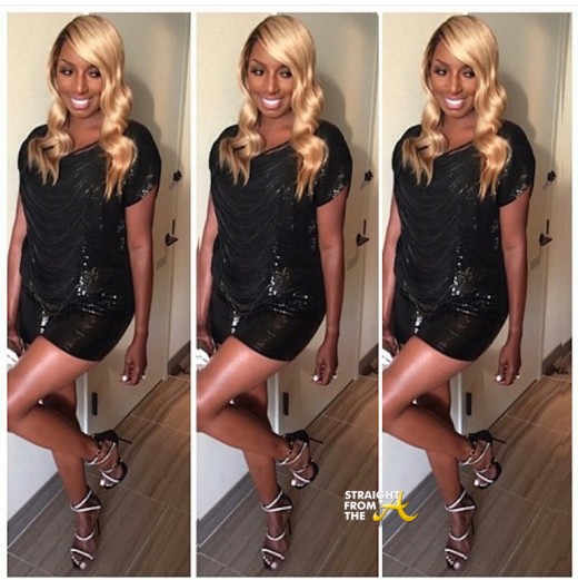 Nene leakes long blond wig sfta 2