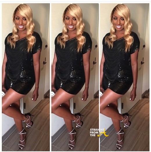 Nene leakes long blond wig sfta 2