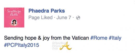 Phaedra Parks Italy 10