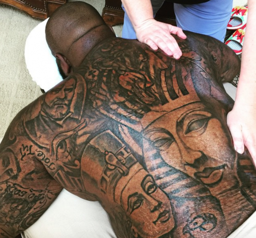 Rick Ross Masseuse 2015