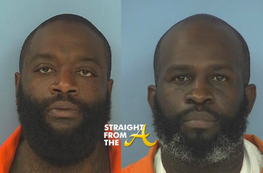 Rick Ross and bodyguard Nadrian James 062415